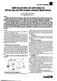 Rô bốt trong hệ thống sản xuất tự động hóa tích hợp máy tính CIM (Computer integrated manufacturing)