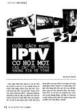 Cuộc cách mạng IPTV cơ hội mới cho các hệ thống thông tin vệ tinh