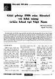 Giải pháp IMS của Alcatel và khả năng triển khai tại Việt Nam
