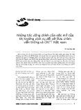 Những tác động chính của việc mở cửa thị trường dịch vụ đối với Bưu chính viễn thông và Công nghệ thông tin Việt Nam