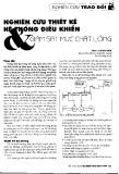 Nghiên cứu thiết kế hệ thống điều khiển và giám sát mức chất lỏng