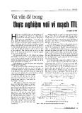 Vài vấn đề thực nghiệm với vi mạch TTL