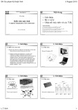 Bài giảng Kiến trúc máy tính (Computer Organization And Architecture) - TS. Lê Thế Vinh
