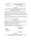 Quyết định số: 8873/QĐ-BCT