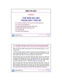 Bài giảng môn Tin học: Chương 2 - ĐH Bách khoa TP.HCM