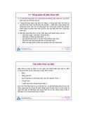 Bài giảng môn Tin học: Chương 7 - ĐH Bách khoa TP.HCM