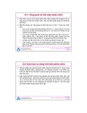 Bài giảng môn Tin học: Chương 12 - ĐH Bách khoa TP.HCM