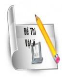 Đề luyện thi học sinh giỏi tỉnh có đáp án: Môn Vật lý (Năm học 2010 - 2011)