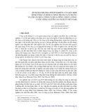 Áp dụng phương pháp nghiên cứu kết hợp định tính và định lượng trong xây dựng và chuẩn hóa công cụ đo lường chất lượng cuộc sống người cao tuổi Việt Nam