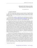 Bình đẳng giới trong gia đình người dân tộc Ê Đê ở Đăk Lăk - Nguyễn Minh Tuấn