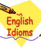 Hiểu thành ngữ tiếng Anh dưới góc nhìn lí thuyết ẩn dụ ý niệm của ngôn ngữ học tri nhận - Nguyễn Ngọc Vũ