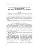 Biến động dân số Thành phố Hồ Chí Minh giai đoạn 1999 2009: Hiện trạng, nguyên nhân và các giải pháp