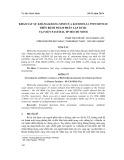 Khảo sát sự kháng kháng sinh của Klebsiella pneumoniae trên bệnh phẩm phân lập được tại Viện Pasteur, TP Hồ Chí Minh