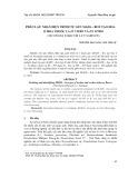 Phân lập, nhận diện trình tự gen MADS – box tạo hoa ở hoa thuốc lá in vitro và ex vitro (Nicotiana tabacum L.cv Samsun)