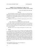 Nghiên cứu sự ảnh hưởng của IBA và NAA đến giâm cành Cóc đỏ (Lumnitzera littorea (Jack) Voigt)