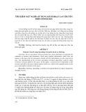Tìm kiếm ngữ nghĩa sử dung kích hoạt lan truyền trên ontology
