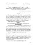 Nghiên cứu quy trình nhân giống in vitro hai giống dứa kiểng Thơm Son (Ananas bracteatus) và Long Phụng (Ananas comosus)
