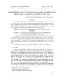 Nghiên cứu sự chuyển tải kim loại nặng (hòa tan và lơ lửng) trong nước vùng hạ lưu sông Hồng (Việt Nam)