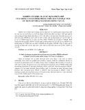 Nghiên cứu hiệu suất sử dụng phân urê của giống cao su PB260 trồng trên đất xám bạc màu (sử dụng kĩ thuật đánh dấu đồng vị N-15)
