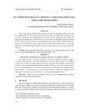 Quá trình kích hoạt cục bộ đồng và hợp kim -đồng thau trong môi trường kiềm