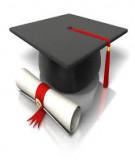 Luận văn Thạc sỹ: Thiết kế tài liệu tự học có hướng dẫn theo mô đun tăng cường năng lực tự học, tự nghiên cứu cho học viên ở trường Sĩ quan lục quân 1 môn học Hoá đại cương phần Nhiệt động hóa học và Dung dịch - Nguyễn Hương Thảo