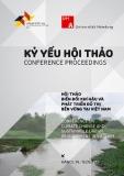 Kỷ yếu hội thảo: Biến đổi khí hậu và phát triển đô thị bền vững