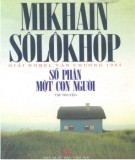 Ebook Số phận một con người: Phần 1 - Mikhain Sôlôkhôp
