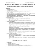 Bài giảng lâm sàng nhi khoa: Thực hành lâm sàng khoa tiêu hóa - ĐH Y Hà Nội