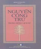 Ebook Nguyễn Công Trứ trong dòng lịch sử: Phần 1 - Đoàn Tử Huyết (chủ biên)