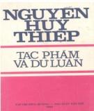 Ebook Nguyễn Huy Thiệp - Tác phẩm và dư luận: Phần 1 - NXB Trẻ
