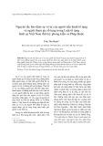Nguyên tắc bảo đảm sự vô tư của người tiến hành tố tụng và người tham gia tố tụng trong Luật tố tụng hình sự Việt Nam thời kỳ phong kiến và Pháp thuộc