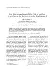 Hoàn thiện các quy định của Bộ luật Hình sự Việt Nam về bảo vệ quyền phụ nữ trên cơ sở tiếp thu pháp luật quốc tế