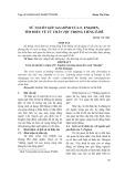 Từ nguồn gốc gia đình của F. Enghen, tìm hiểu về từ thân tộc trong tiếng Ê-đê