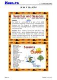 Bài giảng Buổi 3: Seasons - Vũ Mai Phương