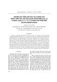 Nghiên cứu tổng hợp xúc tác cacbon oxit mang trên vật liệu mao quản trung bình Ia3d, x% CoO/SiO2 (ia3d) (x = 1; 1,5; 3; 5) dùng cho phản ứng oxi hóa Benzylancol