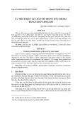 Ly trích khử lưu huỳnh trong dầu diesel bằng chất lỏng ion