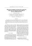 Tổng hợp và nghiên cứu tính chất của một số phức chất của nguyên tố đất hiếm với axit DL-2-amino-n-butyric