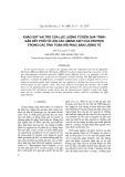 Khảo sát vai trò của lực lượng tử đến quá trình gắn kết phối tử liên kết amino axit của protein trong các tính toán hồi phục bán lượng tử
