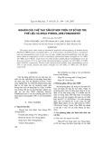 Nghiên cứu chế tạo tấm ép mdf trên cơ sở sợi tre phế liệu và nhựa phenol-ure-fomandehit
