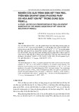Nghiên cứu quá trình điện kết tinh Pbo2 trên nền Graphit bằng phương pháp Oxi hóa Anôt ion Pb2+ trong dung dịch Pb(No3)2