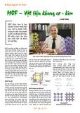 MOF - Vật liệu khung cơ - kim