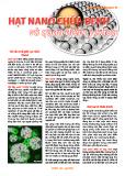 Hạt nanô chữa bệnh và quan điểm y học