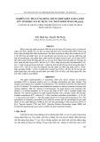 Nghiên cứu phản ứng đồng trùng hợp ghép acrylamit lên tinh bột sắn sử dụng tác nhân khơi mào (NH4)2S2O8