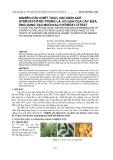 Nghiên cứu chiết tách, xác định axit hydroxycitric trong lá, vỏ quả của cây bứa, ứng dụng tạo muối kali hydroxy citrat