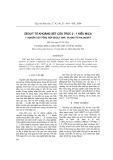 Zeolit từ khoáng sét cấu trúc 2 : 1 kiểu mica: 1-Nghiên cứu tổng hợp zeolit NaP1 và Naa từ phlogopit