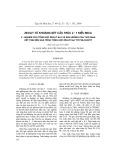 Zeolit từ khoáng sét cấu trúc 2:1 kiểu mica - Phần V: Nghiên cứu tổng hợp zeolit NaY và ảnh hưởng của thời gian kết tinh đến quá trình tổng hợp zeolit NaY từ phlogopit
