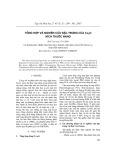 Tổng hợp và nghiên cứu đặc trưng của Cu2O kích thước nano