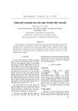 Tổng hợp và khảo sát vật liệu tổ hợp hấp thụ dầu