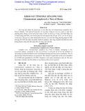 Khảo sát tinh dầu gỗ long não, Cinnamomun camphora (L.) Nees et Eberm