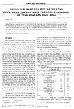 Những giải pháp vật liệu và thi công nhằm nâng cao khả năng chống thấm cho đập bê tông Đầm Lăn Bình Định